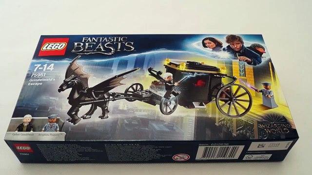 LEGO 75951 GRINDELWALD'S ESCAPE - FANTASTIC BEASTS - LEGO Harry Potter Speed Build