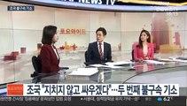 """[토요와이드] 조국 """"지치지 않고 싸우겠다""""…두 번째 불구속 기소"""