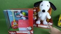 The Peanuts Movie Snoopy the Flying Ace Remote Control RC Doghouse toy PLUS a Christmas Train--