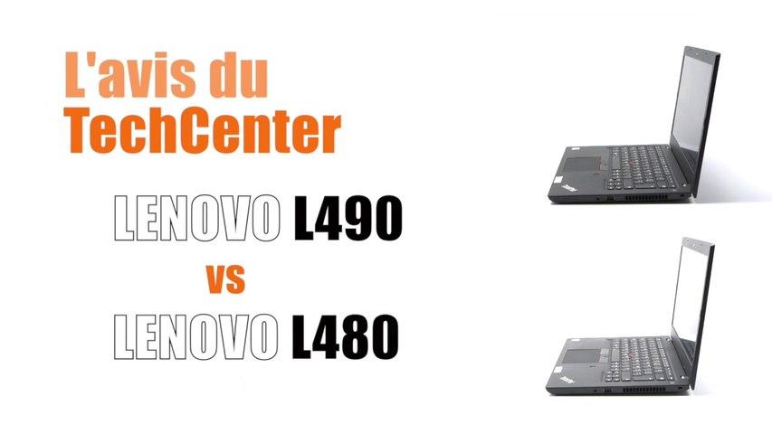 En direct du TechCenter Céleris le nouveau  Lenovo L490
