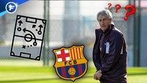Comment Setien pourrait faire jouer le Barça, les joueurs de la Juve œuvrent pour le retour de Pogba