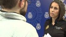 Laura Garaboa, portavoz de la Policía Nacional