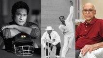 Cricketer Bapu Nadkarni passed away
