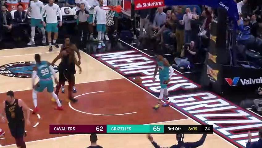 Cleveland Cavaliers 109 - 113 Memphis Grizzlies