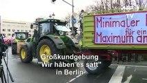 Startschuss für Bauernproteste in Berlin gefallen