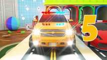 Kids Learn Colors Toys On Street Vehicles Colors With Dump Truck Garbage Truck  Fire Truck  Ambulance Magic Liquid