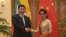 Birmania y China estrechan relaciones con decenas de acuerdos de inversión