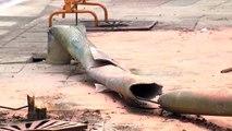 Mueren dos niños tras chocar un autobús contra un coche en Estella
