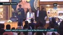 Assam Cabinet expansion:  Jogen Mohan, Sanjay Kishan take oath as Ministers