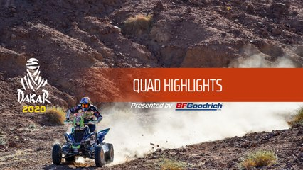 Dakar 2020 - Quad Highlights