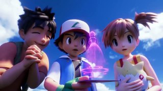 Pokemon Mewtwo Strikes Back—Evolution Official Trailer