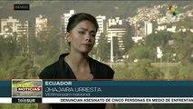 Ecuador: víctima del Paro Nacional denuncia persecución de autoridades
