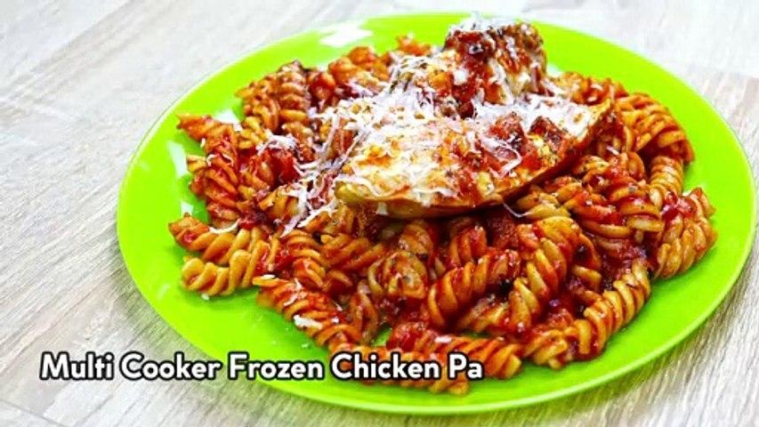 Multi Cooker Frozen Chicken Pasta - CLEVER CHEF