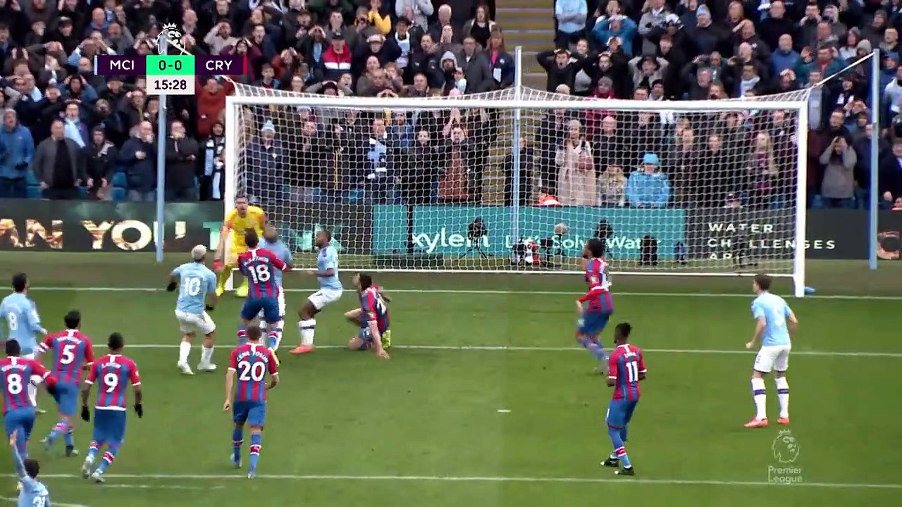 Manchester City - Crystal Palace (2-2) - Maç Özeti - Premier League 2019/20