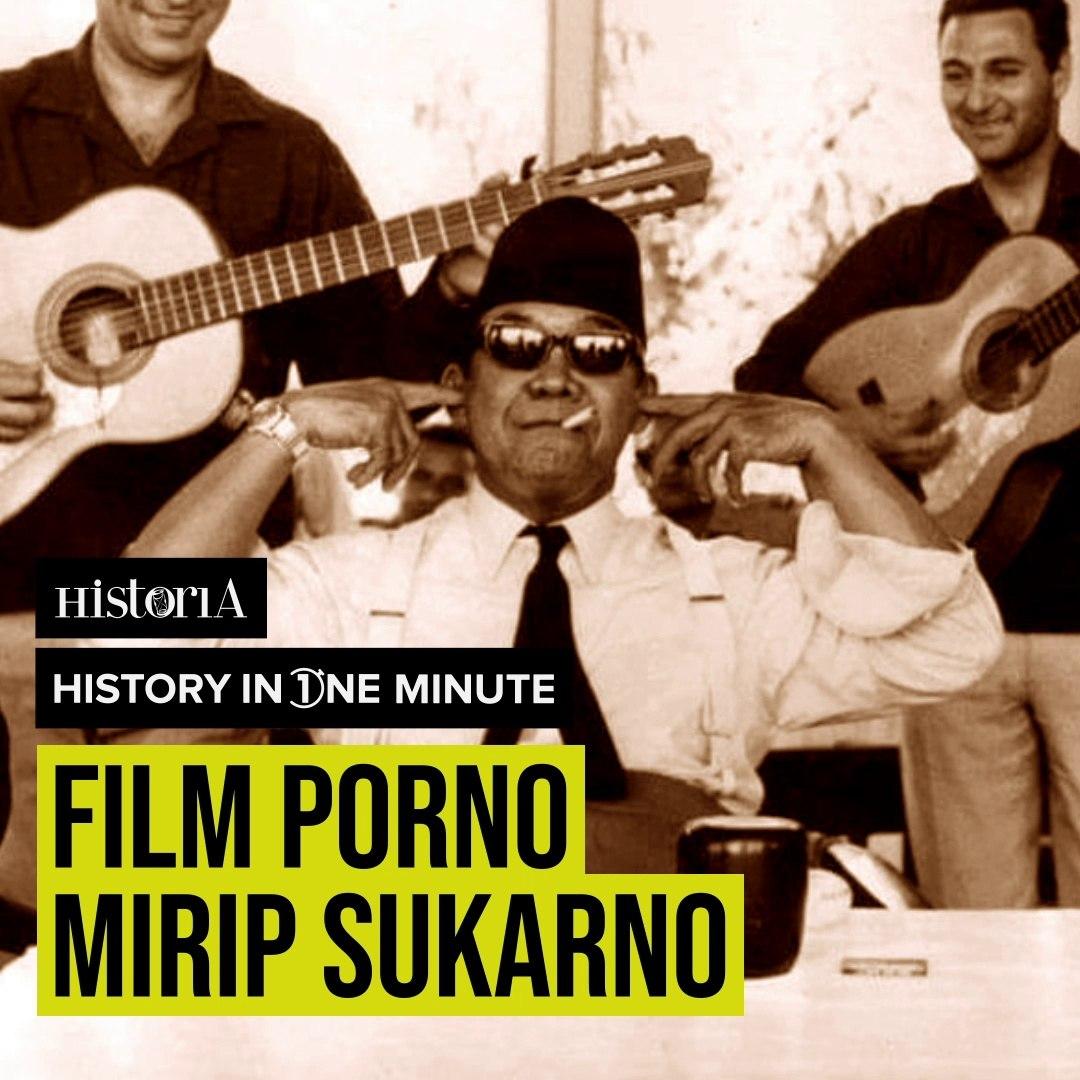 FILM PORNO MIRIP SUKARNO