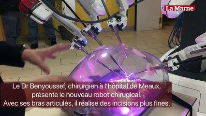 L'hôpital de Meaux a acheté un robot chirurgical.