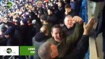 Cenk Tosun'un golü sonrası Crystal Palace taraftarı