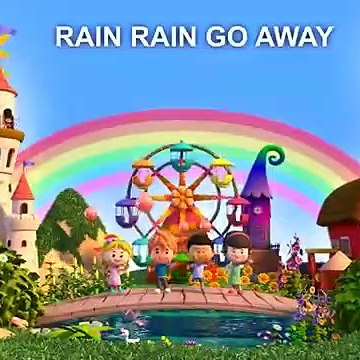 Rain Rain Go Away Come Again Another Day with lyrics - LIV Kids Nursery Rhymes and Songs - HD