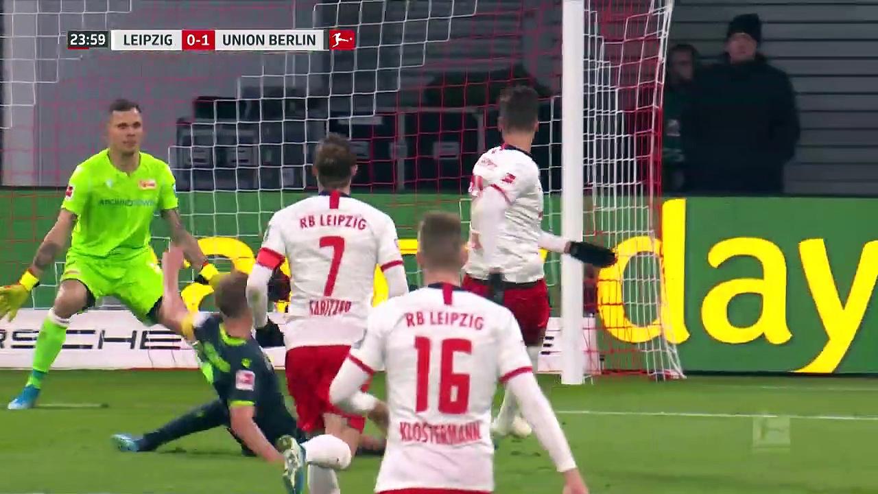 RB Leipzig - Union Berlin (3-1) - Maç Özeti - Bundesliga 2019/20