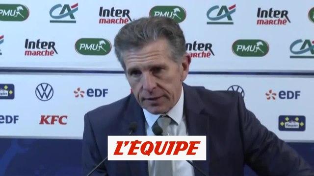 Puel «On ne s'est pas désunis» - Foot - Coupe - Saint-Etienne