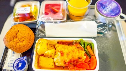 Why food tastes different on planes
