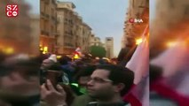 Lübnan'da protestocularla polis arasında arbede