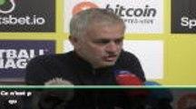 "23e j. - Mourinho : ""Nous avons contrôlé le match"""