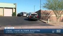 1 dead, 1 hurt in Tempe shooting