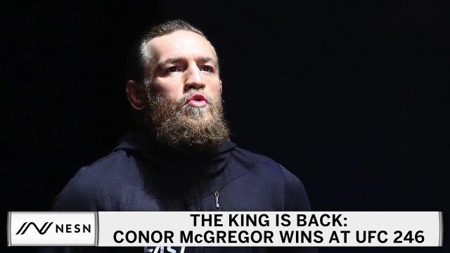 UFC 246 Results: Conor McGregor Knocks Out Cowboy Cerrone