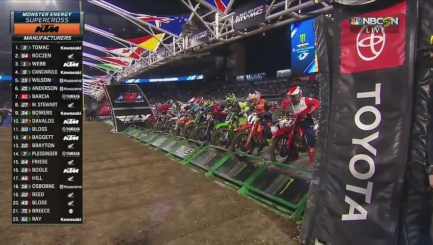 2020 Supercross Anaheim 2 450 Main Event