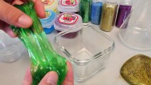 How To Make Jelly Color Glitter Slime Colors Clay Toys For Kids And Babies