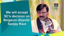 We will accept SC's decision on Belgaum dispute: Sanjay Raut
