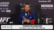 Conor McGregor On What's Next For Him