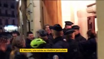 Paris : la réforme des retraites gâche la soirée au théâtre d'Emmanuel Macron