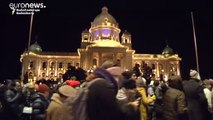Balcani: Belgrado in piazza contro l'inquinamento