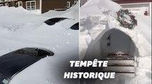 Au Canada, Saint-Jean ensevelie sous la neige, l'armée appelée en renfort