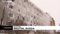 Russia siberiana: rischiano di morire di freddo nel palazzo di ghiaccio