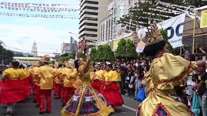 Street dancers fill Cebu City with color for Sinulog 2020