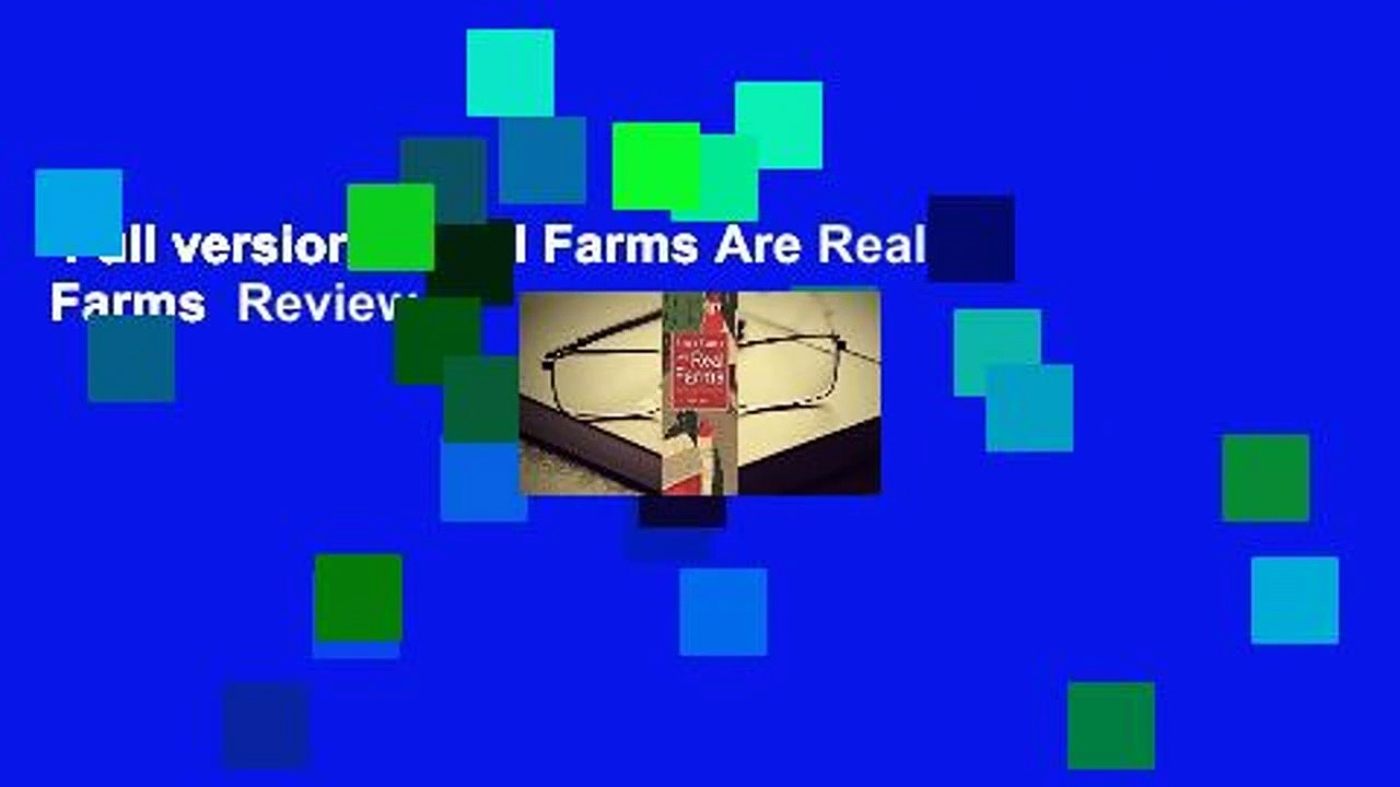 Full version  Small Farms Are Real Farms  Review