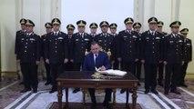 وزير الداخلية مهنئاً الرئيس بعيد الشرطة: نواصل العطاء مهما بلغت التحديات