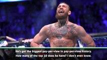 'Superstar' McGregor as big as Muhammad Ali - White
