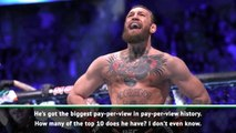 'Superstar' McGregor as big as Muhammad Ali - White