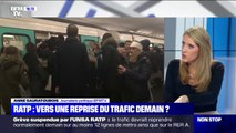 RATP: vers une reprise du trafic ce lundi?