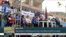Bolivia: precandidatos del MAS firman acuerdo de unidad