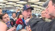 """Carlos Sainz pide """"descansar"""" después de ganar su tercer Dakar"""
