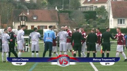 Coupe Grand Est, Le Chesne - FC Métrop.Troyenne (2-2, 2-3 tab), le résumé