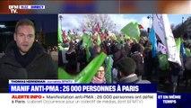 Manifestation anti-PMA à Paris: selon le cabinet Occurrence, 26.000 personnes ont défilé