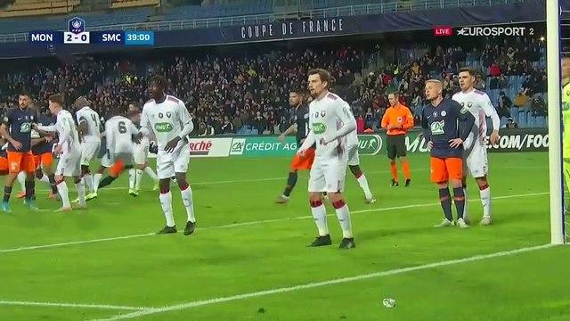 Montpellier prend le large à la Mosson : Delort inscrit le 3e but