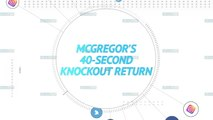 Socialeyesed - McGregor'S 40-second knockout return
