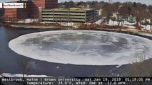The Viral Ice Disk That Formed In Maine Last Year Appears To Be Re-Forming